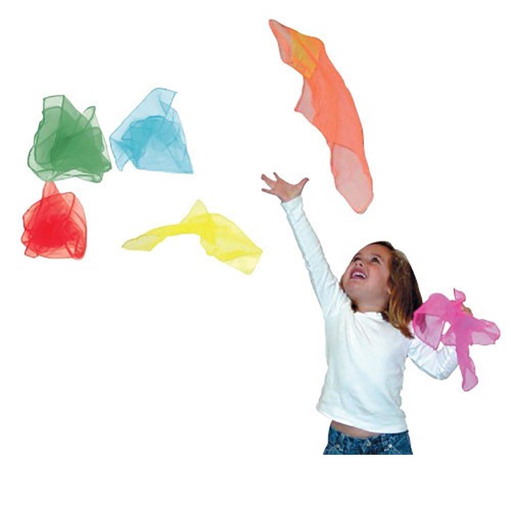 Juggling Scarves 12 Pack