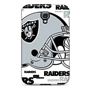 High Impact Dirt/shock Proof Case Cover For Galaxy S4 (oakland Raiders)