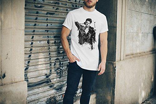 Leonardo DiCaprio-(2) T-Shirt Herren, Men mit stylischen Motiv von Paul Sinus