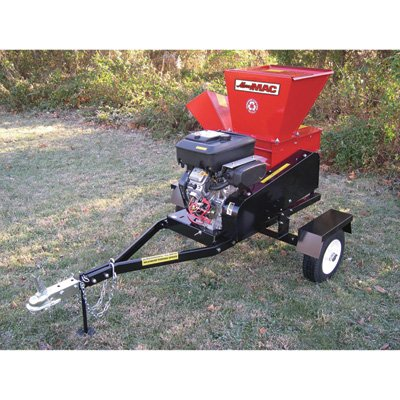 Merry-Mac-Highway-Towable-ChipperShredder-18-HP-Briggs-Stratton-Vanguard-Engine-4-12in-Capacity-Model-SC183-18VEM