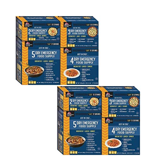 Mountain House Just in Case 14-Day Emergency Food Supply (14-Day Kit / 2-Pack)