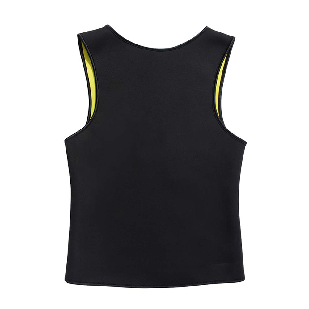para la p/érdida de Peso Color Negro 4XL la combusti/ón de Grasas Camiseta Adelgazante para Hombre sin Cremallera Caidi cintur/ón Abdominal Adelgazante