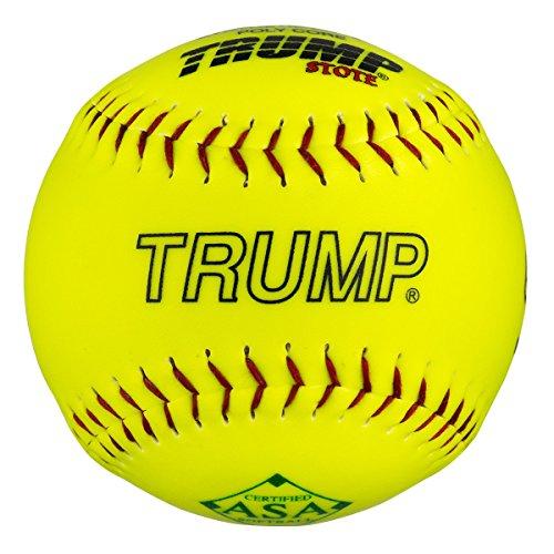 """1 Dozen ASA Trump Stote 12"""" Softballs 52cor/.300 Compression (AK-RP-ASA-Y) 12 Balls"""