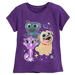 Disney Puppy Dog Pals T-Shirt for Girls Size XXS (5/6) Purple