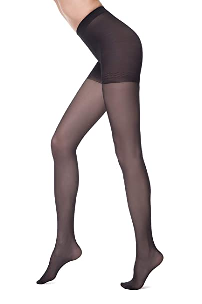 c0d94ed466239 Conte Women's Shaping Nude Pantyhose Tights - Control Compression 40 ...