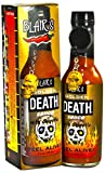 hot sauce key chain - Blair's Golden Death Sauce with Chipotle and Skull Key Chain