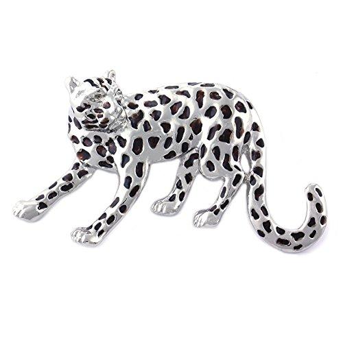 Soulbreezecollection Cheetah Brooch Big Cat Safari Leopard Animal Lovers Pin Fashion Jewelry