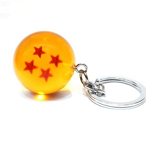 lujiaoshout 1pc Dragon Ball Llavero Colgante Colgante Resina ...