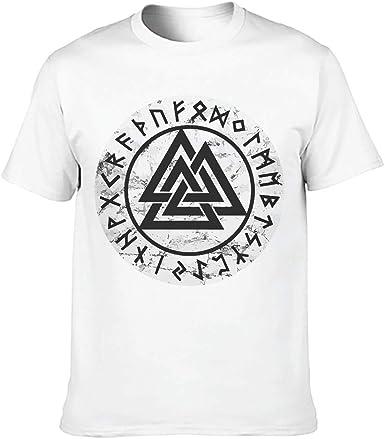Viking Style - Camiseta de algodón para hombre: Amazon.es: Ropa y accesorios
