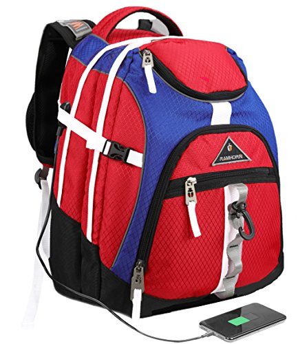 Laptop Backpack 15.6-Inch Business College Travel
