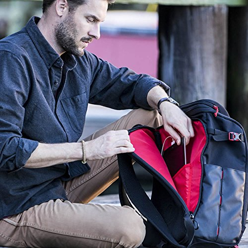 Voltaic Systems - Array USB Solar Backpack with Backup Battery Pack - Charcoal | Powers Laptops, Phones, & More | Solar Charge your Laptop Anywhere by Voltaic Systems (Image #5)