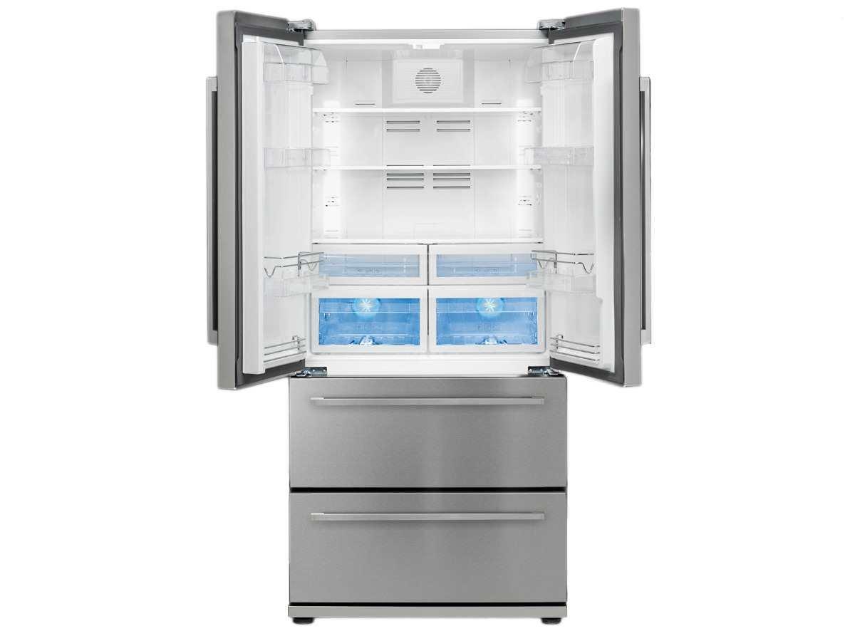 Side By Side Kühlschrank Französisch : Smeg fq55fxe kühlschrank side kühlschrank u2013 kühlschrank unabhängige