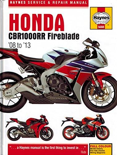 [SCHEMATICS_4FD]  Amazon.com: Haynes Repair Manual 5688 for Honda CBR1000RR CBR1000 CBR 1000  RR 1000RR 2008-2013: Automotive | 2010 Cbr 1000 Wire Diagram |  | Amazon.com