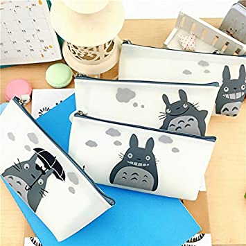 Amazon.com : Totoro Pencil Case Silicone Waterproof Pencil ...