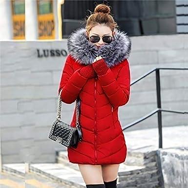 Zogga Winter Warm Jacket Coat Hooded Slim Outwear Long Parka