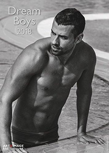Dream Boys 2018 - Fotokalender, Erotikkalender, Wandkalender A3 - 29,7 x 42