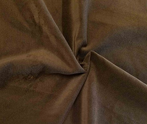 - Quality Brown 100% Cotton Velvet Velour Fabric for Upholstery/Drapery/Crafts/Costumes Heavy 16oz Weight Thick Curtain Material Sold by The Yard at 54 inch Wide
