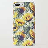 iPhone 7 Plus Case, iPhone 8 Plus Case, Vintage Pattern Design TPU Soft Bumper Case Rubber Silicone Cover for iPhone 7 Plus / iPhone 8 Plus - Sunflowers