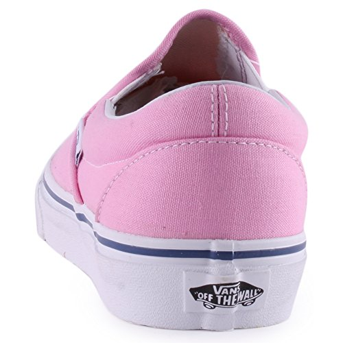 Vans Classic Slip On Womens Canvas Trainers Pink - 42 EU