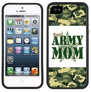 Army Mom Handmade iPhone 5C Black Case
