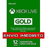 Xbox Live Gold - 12 meses Código 25 Dígitos
