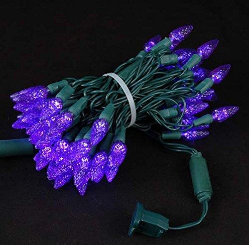 Purple C7 Led Christmas Lights - 3