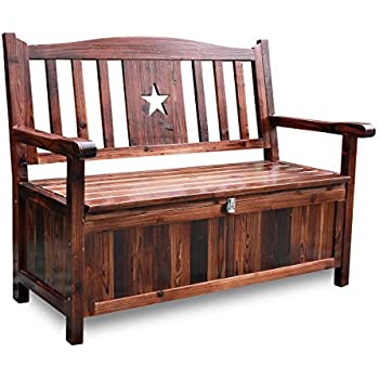 Amazon Com Linon Home Decor Storage Bench With Short