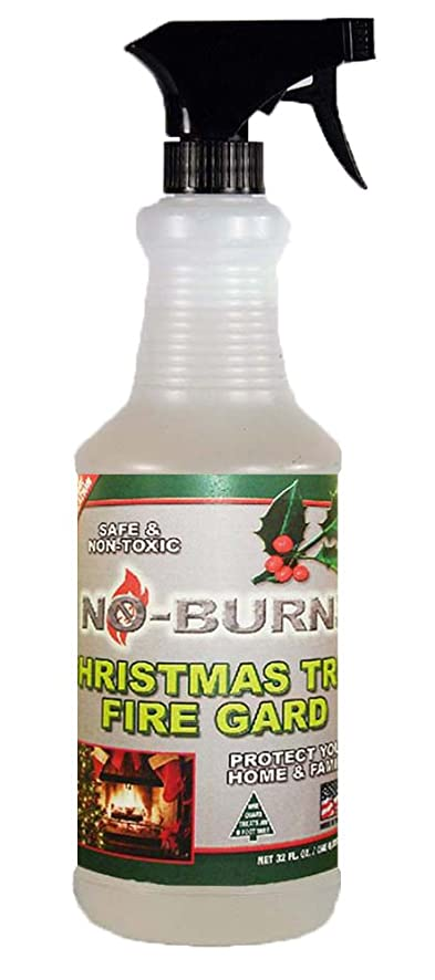 Fire Retardant Spray For Christmas Trees Part - 26: No-Burn Christmas Tree Fire Gard