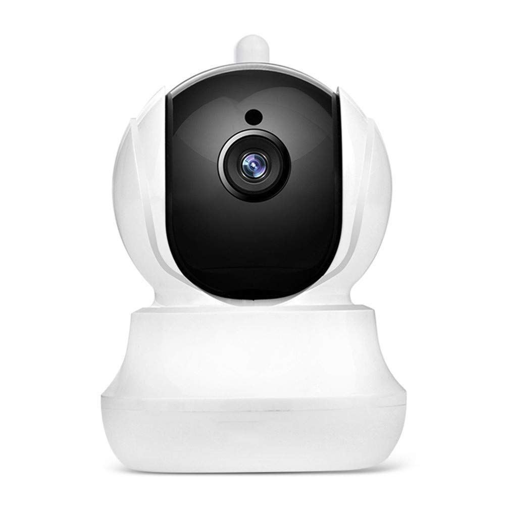 ZDMSEJ Wireless Network Camera, HD WiFi Security Camera, 355° / 90° Rotation, Home and Baby Monitor with Motion Detection, Two-Way Audio, Night Vision, Remote Alarm and Mobile APP by ZDMSEJ