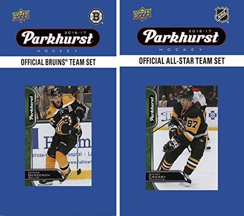 NHL Boston Bruins Men's 2016 Parkhurst Team & an All-Star Set, White (Card Boston Bruins Nhl)
