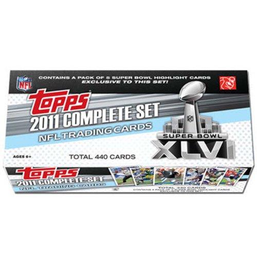 NFL 2011 Topps Super Bowl 46 Factory Set (Topps 2011 Nfl Set)