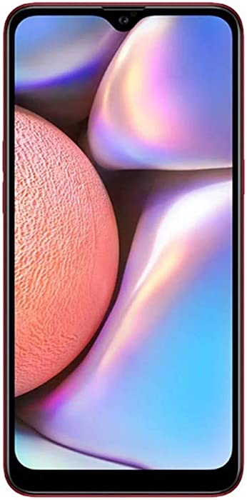 Samsung Galaxy A10s (32GB, 2GB RAM) Duos w/ 13MP Camera Dual SIM GSM Factory Unlocked A107M/DS - US + Global 4G LTE International Model (Red, 32 GB)