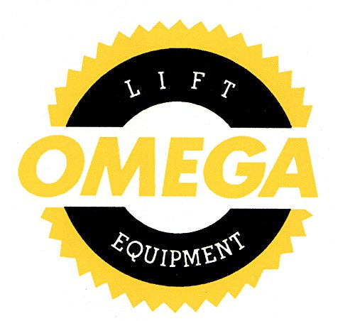 (Omega 32107B Black High Lift Jack Stand - 10 Ton Capacity)