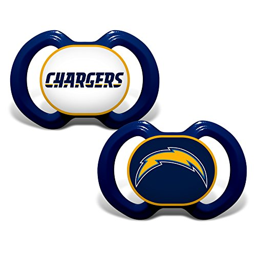 - Baby Fanatic 2 Piece Pacifier Set, San Diego Chargers