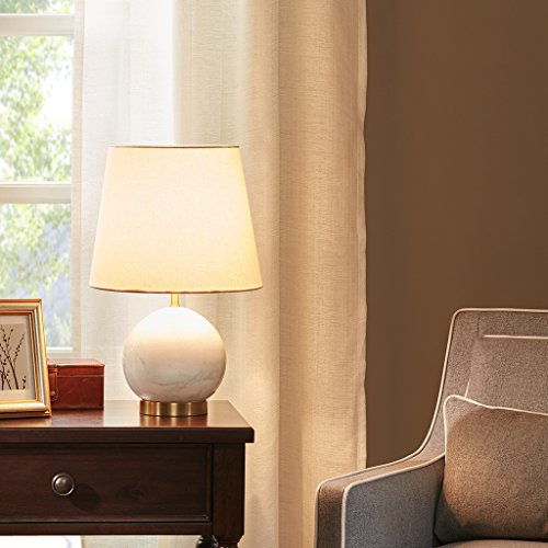 - MADISON PARK SIGNATURE Linden Table Lamp White See Below