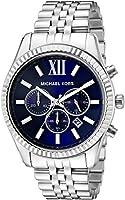 Michael Kors Men's MK8280 Lexington Silver-Tone Stainless Steel Watch