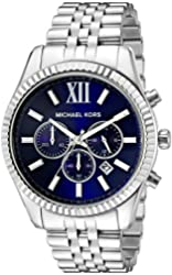 Michael Kors Men's MK8280 Lexington Silver-Tone Stainless Steel Watch