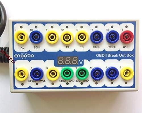 OTKEFDI OBD Detector Breakout Box CAN Data Signal Tool