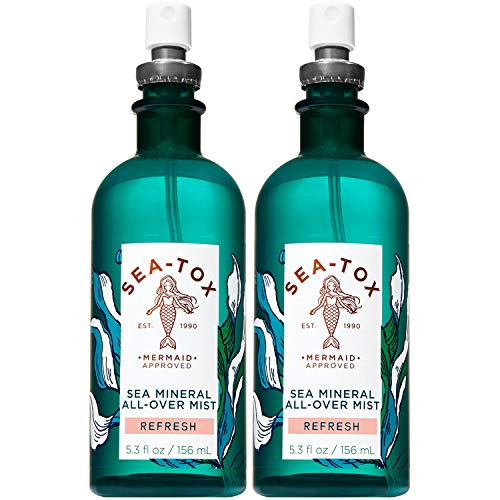 Bath and Body Works SEA-TOX Sea Mineral All Over Mist Refresh 5.3 Oz. 2 Pack