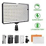 Best Dimmable For DSLR Cameras - SAMTIAN LED Video Light with Remote Control 240 Review