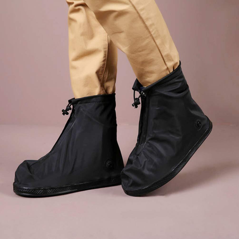 XL Chaussure Fermeture /à Glissi/ère Antid/érapante 1 Paire Garder au Sec R/ésistant /à la Pluie R/ésistant /à LUsure Anti-D/érapant R/ésistant /à la Salet/é