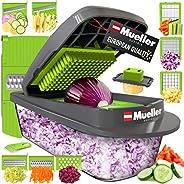 Mueller Austria Pro-Series 8 Blade Onion Mincer Chopper, Slicer, Vegetable Chopper, Cutter, Dicer, Vegetable S