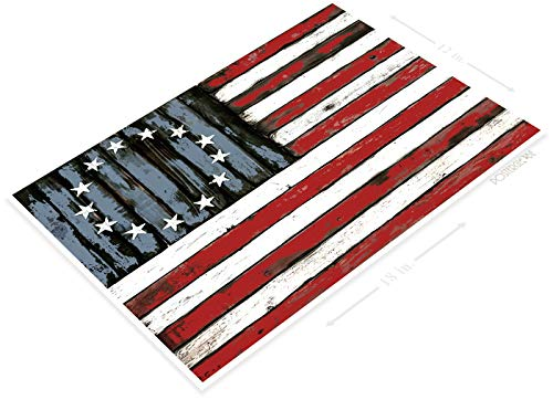 PosterGlobe Poster B551 Bicentennial American Flag for sale  Delivered anywhere in USA