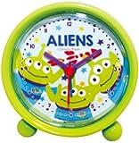 Disney 目覚まし時計 ラウンドアラームクロック アナログ表示 エイリアン 734405