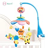 Health Household Baby Care Best Deals - Next X B201-Flash Crib Nursery Baby beg Musical mobile beg bell animal world plush doll with soft melodies box