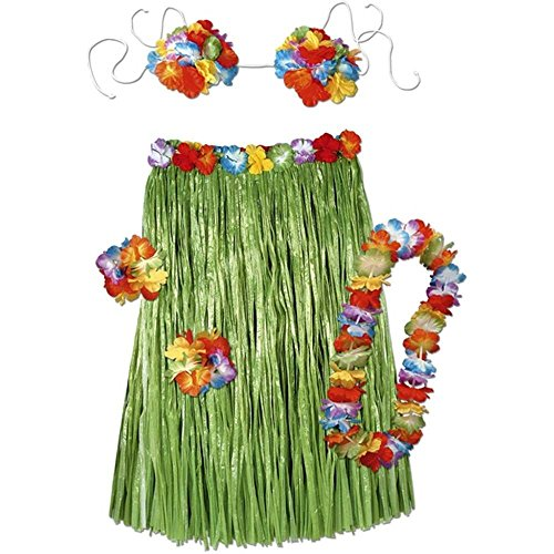 Luau Party Dress Ideas (Complete Hula Outfit (Adult) Pkg/3)