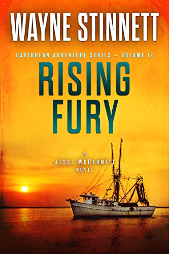 Rising Fury: A Jesse McDermitt Novel (Caribbean Adventure Series Book 12) cover