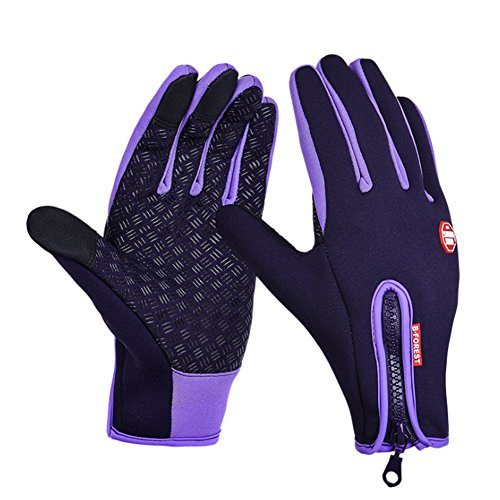 O-C Unisex outdoor sports windproof cycling ski warm touch screen golves XL size (Gourmet Gift Baskets Review)