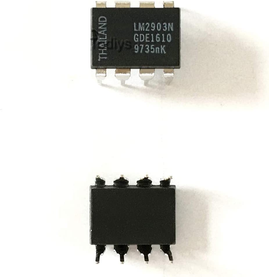 LOW POWER DUAL COMPARATORS 8 PDIP LM2903N  SINGLE SUPPLY