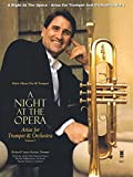 img - for A Night at the Opera: Arias for Trumpet & Orchestra Volume 1 Music Minus One Bb Trumpet book / textbook / text book